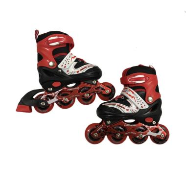Allsportinggoods Power Speed Sepatu Roda - Merah