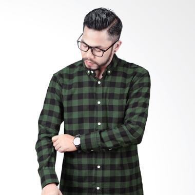 Elevant-Flannel Greble Premium Quality Kemeja Pria