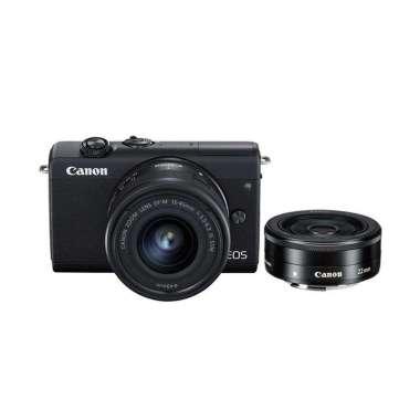 Canon EOS M200 kit 15-45mm F/3.5-6.3 IS STM + Canon EF-M 22mm f/2 STM Black