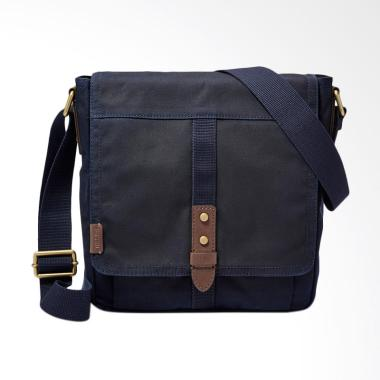 Fossil SBG 1133400 Travis City Sling Bags Pria - Navy