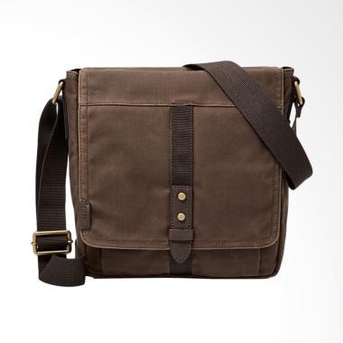 Fossil Travis City Bag Tas Selempang Pria - Brown SBG 1133200
