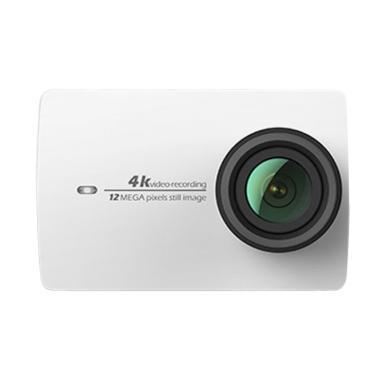 Xiaomi Yi 2 4K Action Camera - Pearl White [Garansi Resmi]