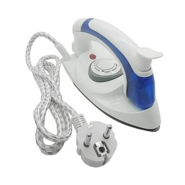 Quickshop 2In1 Travel Iron Mini Setrika Uap Lipat