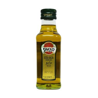 Sasso Olive Oil Extra Virgin Minyak Zaitun [250 mL]