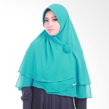 Atteena Hijab Khimar Najla Pet Jilbab Instant - Turquoise