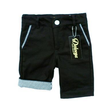 Delovya Chino Pants Celana Pendek Anak - Black