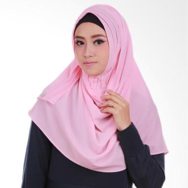 Inara House Pashtan Arnela Jilbab Instant - Baby Pink