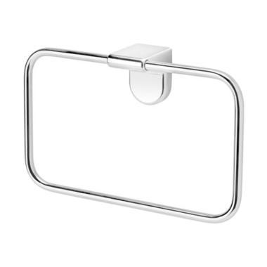 Ikea Kalkgrund Gantungan Handuk Aksesoris Kamar Mandi - Chrome