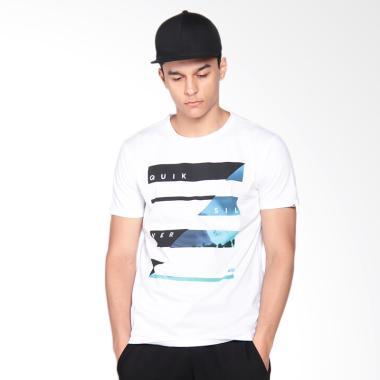 Quiksilver Strormlines2id M Tees T-Shirt Pria - White