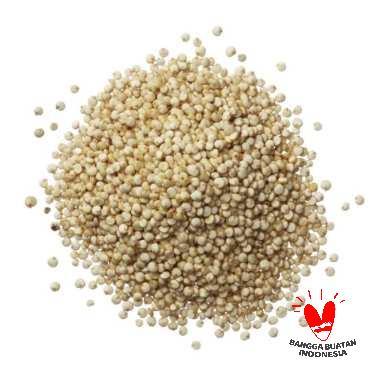 FitJoy Pearl Quinoa Kinoa Putih Makanan Organik 100 G