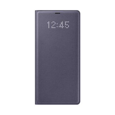 Samsung Original LED View Cover Casing for Galaxy Note 8 - Orchid Gray