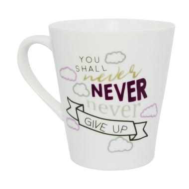 Carnivale Bursa Dapur Never Motivation Mug [280 mL]