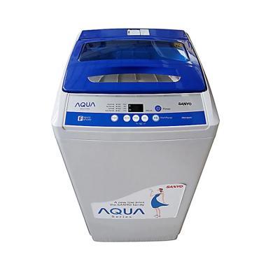 Aqua QW-99XTF Top Loading Mesin Cuci - Abu-abu [9 Kg]