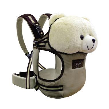 Baby Scots C Boneka Stuffed Animal Baby Carrier Gendongan Bayi - Brown