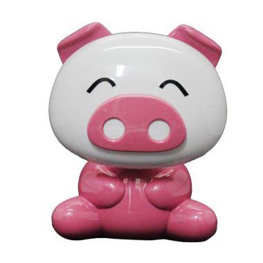 KUKUK LM-LD087 Babi LED Lampu Meja - Pink
