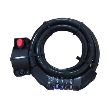 ION XR 2606 Gembok Sepeda - Black