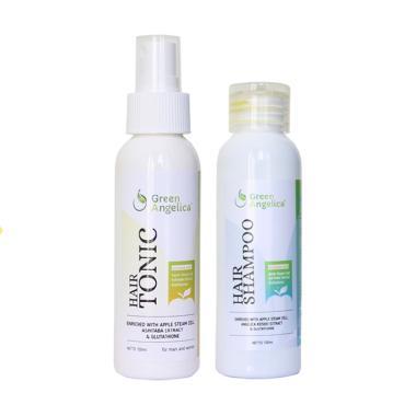 REVIEW perawatan rambut rontok, obat penumbuh rambut botak paling dicari, obat rambut botak best seller, penumbuh rambut rontok Green Angelica BPOM Terbaik