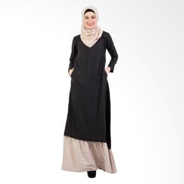 Valisha Jihan Dress - Black Latte