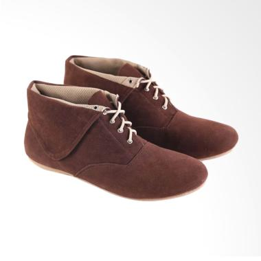 Garsel L532 Fashionable Casual Shoes Woman Synthetic - Brown