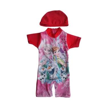 Rainy Collections Karakter Frozen Baju Renang Bayi - Merah