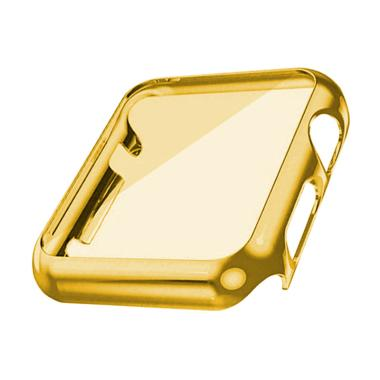 OEM unisex Tempered Glass Full Plat ... ch or iWatch 42 mm - Gold
