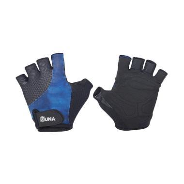 Zuna Sport Men Mismatch Fitness Gloves - Biru