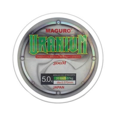 Maguro Uranium Line Monofilament Senar Pancing [0.37 mm]