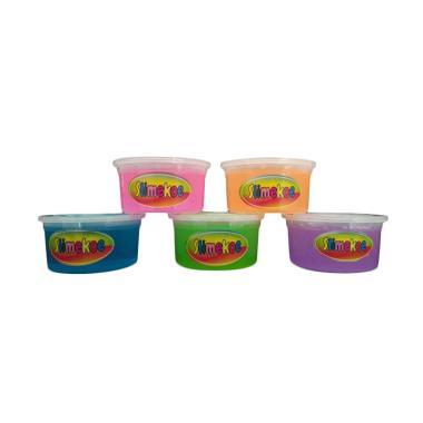 Slime Clear 5 Warna Mainan Edukasi Anak