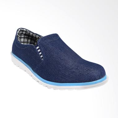 Dr.Kevin Canvas Men Shoes - Navy 13305