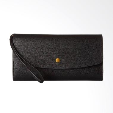 Fossil SL 6851001 Haven Large Flap Dompet Wanita - Black