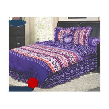 California Motif Lana Set Sprei dan Bed Cover [180 x 200 cm]