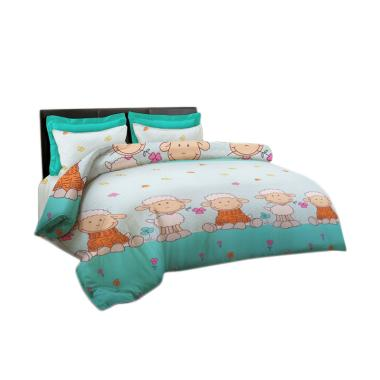 King Rabbit Motif Little Sheep Bed Cover - Tosca