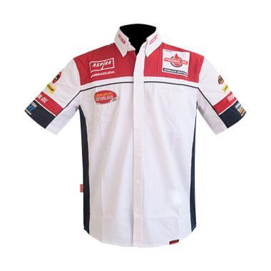 Respiro Gresini Moto2 Shirt Kemeja Pria - Red White