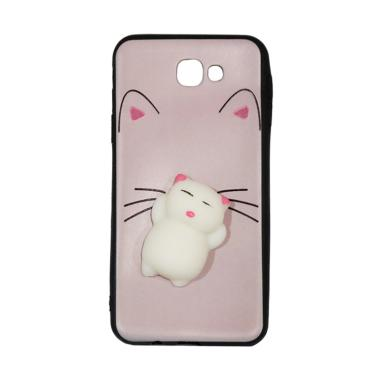 Winner Squishy Lazy Cat Softcase Casing for Samsung Galaxy J5 Prime