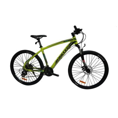 United Miami 200 Plus Sepeda MTB - Yellow [26 Inch]