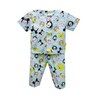 Hoshi Motif TsumTsum Dkk Baju Tidur Bayi Laki Laki - Blue
