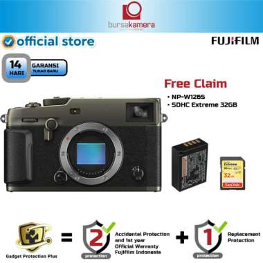 harga BKP Fujifilm X-PRO3 Kamera Mirrorless - Dura Black BLACK Blibli.com
