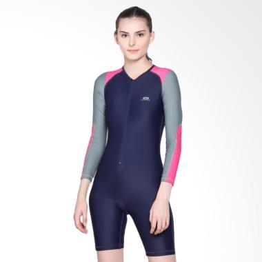 OPELON Baju Renang Wanita - Navy [09.4003.001.16.NV]