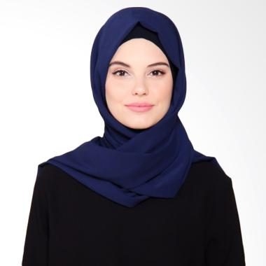 Beyola Bubble Hijab Pashmina - Navy