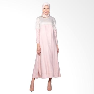 Dauky L Femima Dress Muslim - Brown Pink