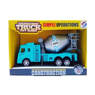 Hot Gear Big Vehicle Diecast - Blue