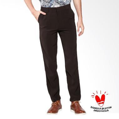 FG Clothing Formal Celana Pria - Coklat Tua