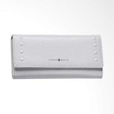 Aamour Charm Magical Women Wallet Dompet Wanita - Light Grey