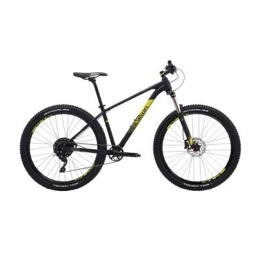 Polygon Xtrada 7 Sepeda MTB - Black Yellow [27.5Inch]