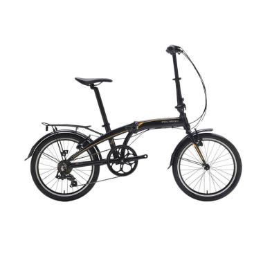 Polygon Urbano 3 P Sepeda Lipat - Black [20 Inch]