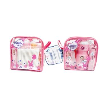 Cussons Baby Daily Care Mini Bag Set Perlengkapan Bayi - Pink