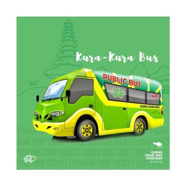 Kura Kura Bus Bali Indonesia Tiket Trasnportasi Darat [3 Day Pass]
