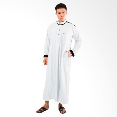 Okechuku Al-Isra Jubah Samha Gamis Pria - Putih