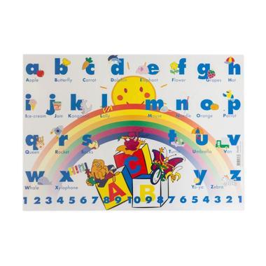 Bantex  4160 01 Alphabets Motives Childern Desk Pad - Blue  33 x 46 cm 0fc0bca014