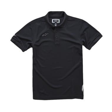 Alpinestars Vortex Polo Shirt Pria - Black
